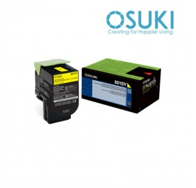 LEXMARK 100% Original YELLOW TONER 80C80Y0 (CX310DN)