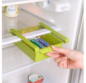 OSUKI Refrigerator Multi-Partition Storage Rack (Green)