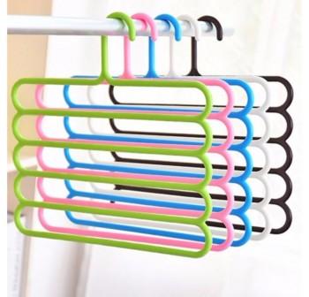 OSUKI 5 Layer Clothes Hanger (Green)