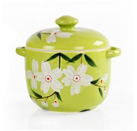 OSUKI Heat Resistant Ceramic Stew Pot (Green)