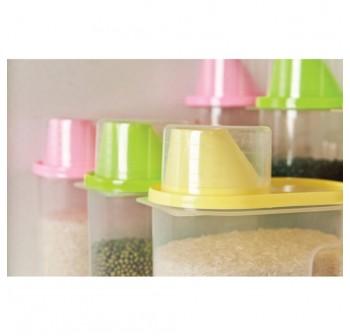 OSUKI Japan Quality Seal Food Storage (Pink) (X2)