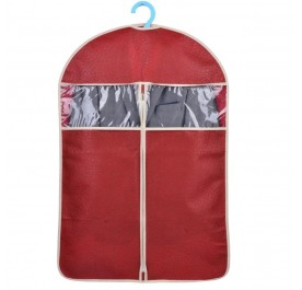 OSUKI Hanging Cloth Dust Cover Garment Bag 60 X 108cm (Red)