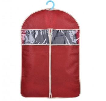OSUKI Hanging Cloth Dust Cover Garment Bag 60 X 108cm (Red)