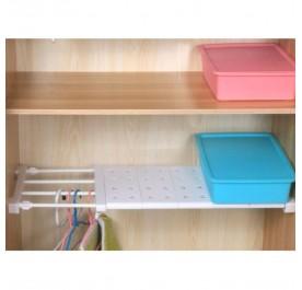 OSUKI Extendable Kitchen or Wardrobe Rack (White)