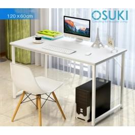 OSUKI Japan High Quality Modern Office Table 120 x 60cm (White)