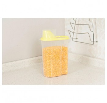 OSUKI Japan Quality Seal Food Storage Canister (Yellow) (X2)