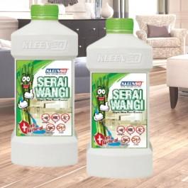 2 x KLEENSO Serai Wangi Liquid Wax Floor Cleaner 1 Litre