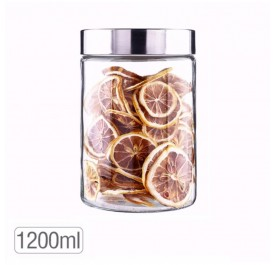 OSUKI 1200ml Food Container Glass Jar Sealed With Lid