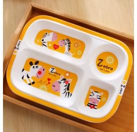 OSUKI Japan Quality Ceramic Children Plate (Zebra)