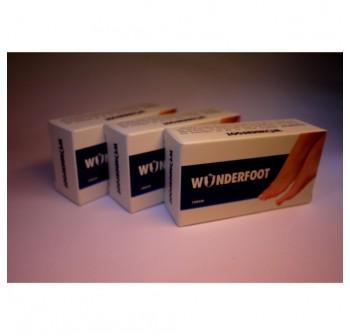 3 x WONDERFOOT Natural Antifungal Soap 100g