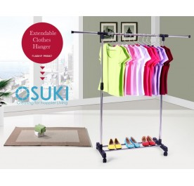 OSUKI Japan Quality Extendable Laundry Clothes Hanger
