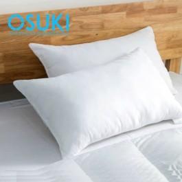 OSUKI 2pcs Five Star Hotel Bedding Cotton Pillow