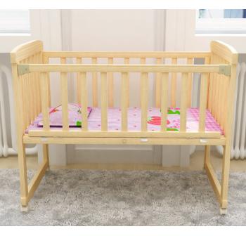 OSUKI Japan Quality Cradle Baby Cot Wooden Rocking