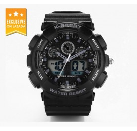OSUKI K-Sport Analog Digital Sports Watch (Black)