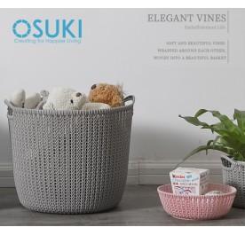 OSUKI Japan Quality Storage Basket (Grey)