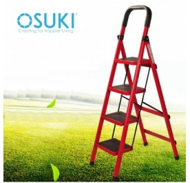 OSUKI Multifunction Folding Ladder (Height 129cm)