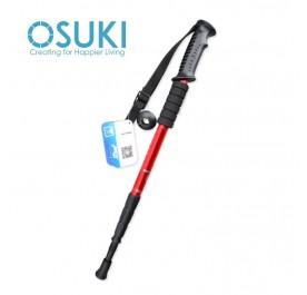 OSUKI Hiking Sticks Adjustable Retractable Anti-Shock Telescopic Poles