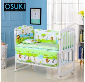 OSUKI Baby Cot Bedding Set 5 in 1