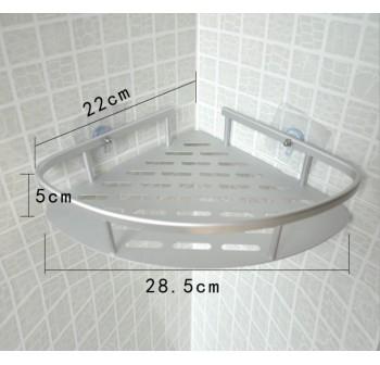 OSUKI Bathroom Corner Shelf Adhesive Aluminium Rack