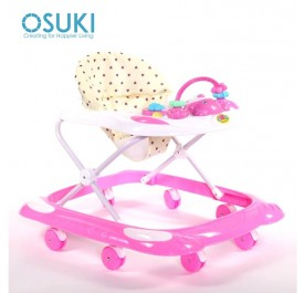 OSUKI Baby Walker 3 Level Adjustable