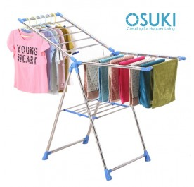 OSUKI Solid Steel Foldable Clothes Drying Rack