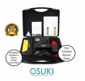 OSUKI Car Starter Jumper Power Bank 14000mAh (FREE Tyre Pump)