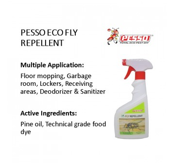 PESSO Eco Fly Repellent 500ml