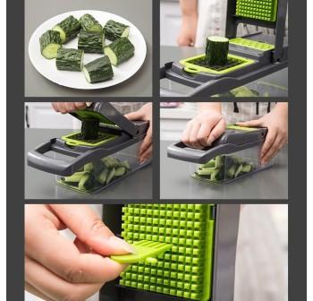 OSUKI Vegetable Cutter Set (12 In 1)