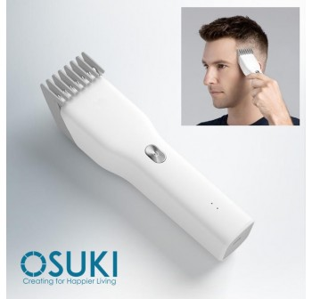 OSUKI Boost USB Electric Hair Clipper 2 Speeds Ceramic Cutter Hair Trimmer