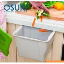 OSUKI Kitchen Hang Cabinet Dustbin Basket Storage With Lid
