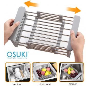 OSUKI Sink Filter Rack Extendable 28 - 43cm
