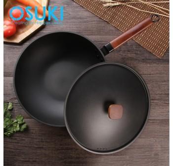 OSUKI Classic Iron Cooking Pan 30cm