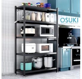 OSUKI Home Kitchen Steel Rack 5 Layer (160 x 120cm)