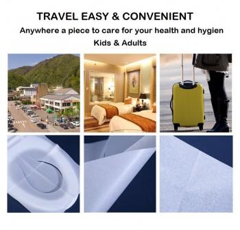 OSUKI (200pcs/pack) Disposable Toilet Seat Cover Paper Pocket Size