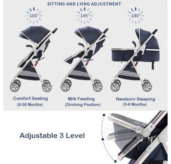 OSUKI Premium Baby Stroller 2 Way Facing (3 in 1)