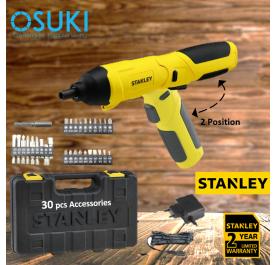STANLEY Cordless Wireless Drill Screw Driver Foldable 4V (SCS4K-B1)