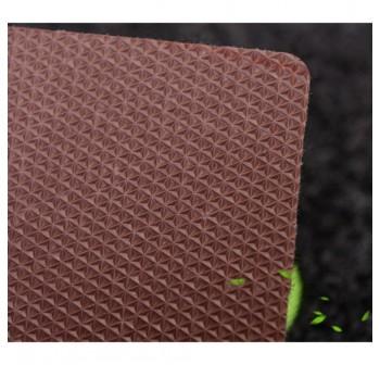 OSUKI Anti-Skid Pad Carpet Mats 50*80 Coffee Tree (Brown)