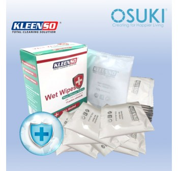 KLEENSO Disinfection Wet Wipes (12 packets)