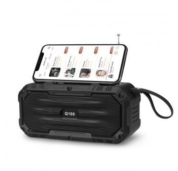 OSUKI FM Radio Bluetooth Speaker Rechargeable USB MP3 Player